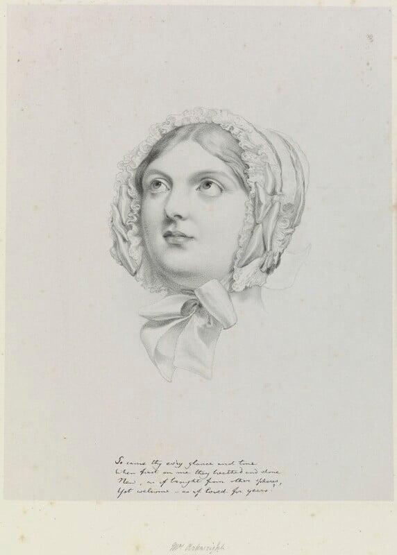 Mrs Arkwright, by Richard James Lane, after  Sir George Hayter, 1849 - NPG D21729 - © National Portrait Gallery, London