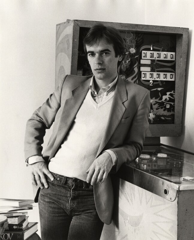 Martin Amis, by Mark Gerson, 1984 - NPG x35719 - © Mark Gerson / National Portrait Gallery, London