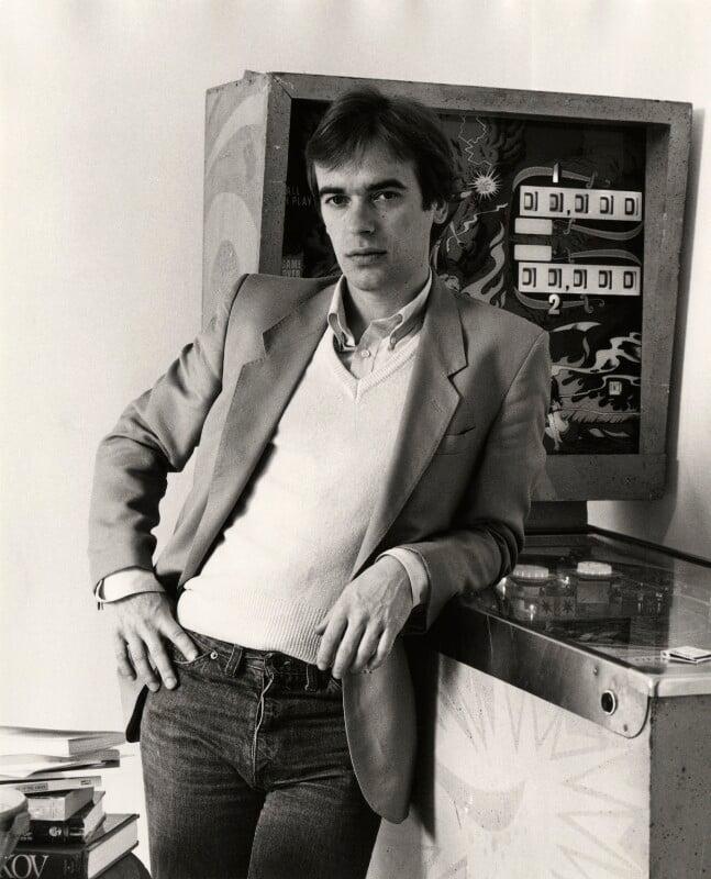Martin Amis, by Mark Gerson, 1984 - NPG x35719 - © Mark Gerson / National Portrait Gallery, London