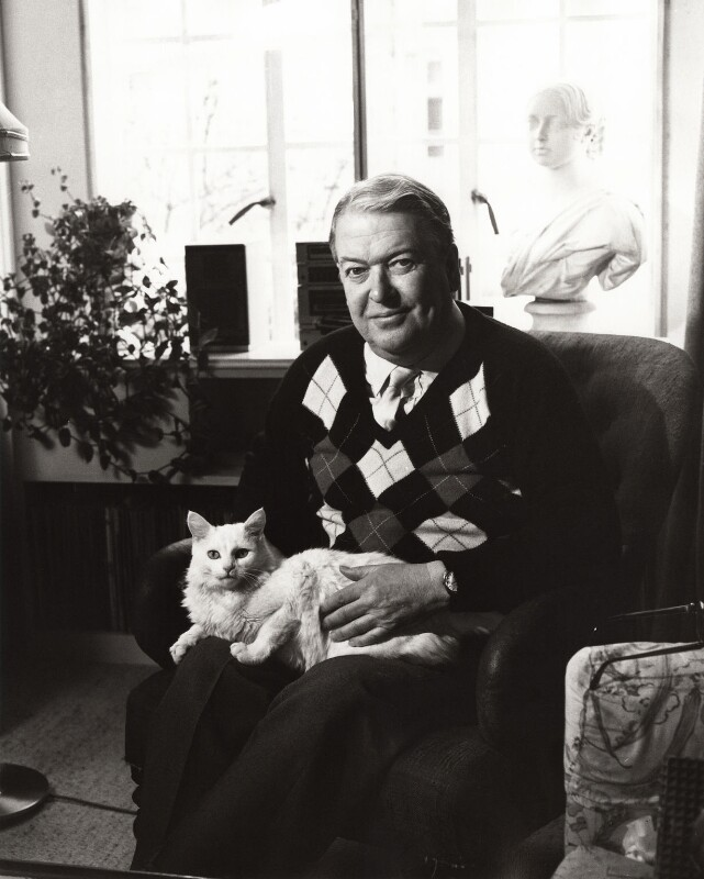 Kingsley Amis, by Mark Gerson, 1985 - NPG x25204 - © Mark Gerson / National Portrait Gallery, London