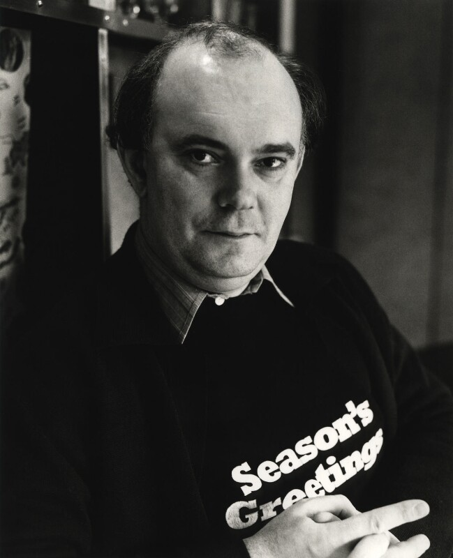 Sir Alan Ayckbourn, by Mark Gerson, 1981 - NPG x20103 - © Mark Gerson / National Portrait Gallery, London