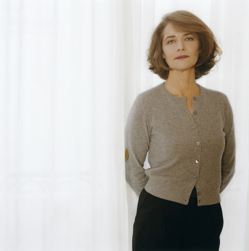 Charlotte Rampling, by Véronique Rolland, 2001 - NPG x126832 - © Véronique Rolland