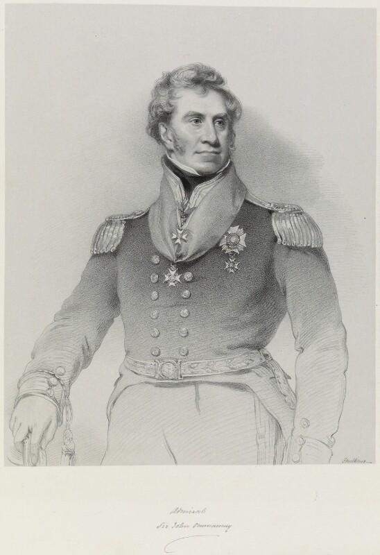 Sir John Acworth Ommanney, by Richard James Lane, after  Benjamin Rawlinson Faulkner, 1851 - NPG D21762 - © National Portrait Gallery, London