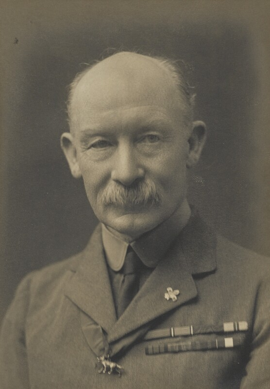 Robert Baden-Powell, by James Russell & Sons, circa 1916 - NPG Ax46141 - © National Portrait Gallery, London