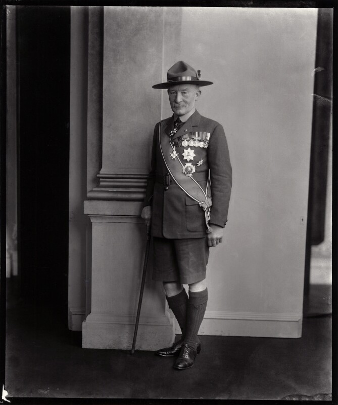 Robert Baden-Powell, by Vandyk, 22 February 1923 - NPG x129938 - © National Portrait Gallery, London