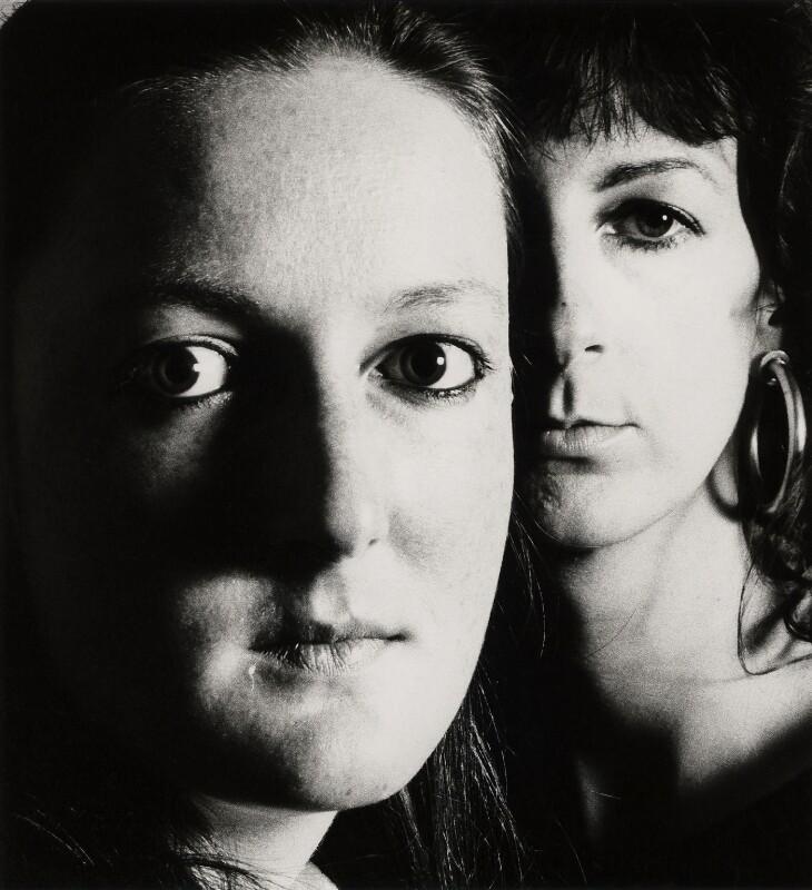 Denise Thorn; Gill Bradley, by Chris Garnham, October 1987 - NPG x38102 - © estate of Chris Garnham / National Portrait Gallery, London