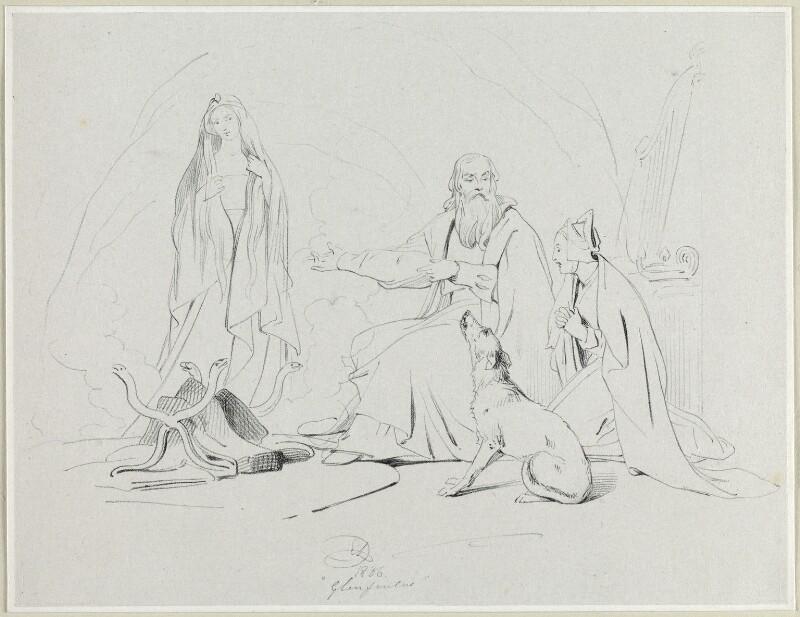 'Glenfinlas', by Richard James Lane, after  Sir Edwin Henry Landseer, 1836 - NPG D21838 - © National Portrait Gallery, London