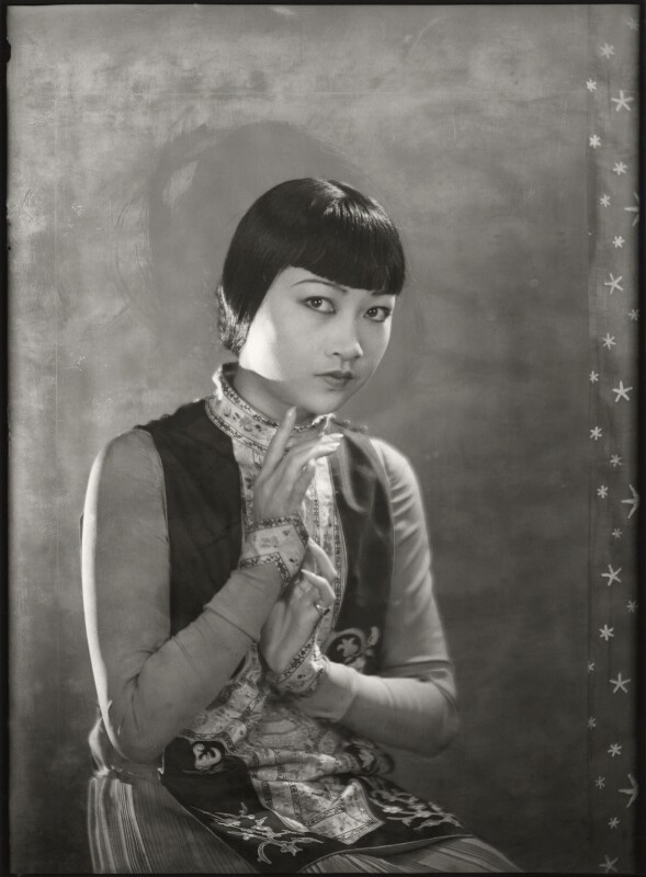 Anna May Wong, by Dudley Glanfield, 25 April 1929 - NPG x126862 - © reserved; collection National Portrait Gallery, London