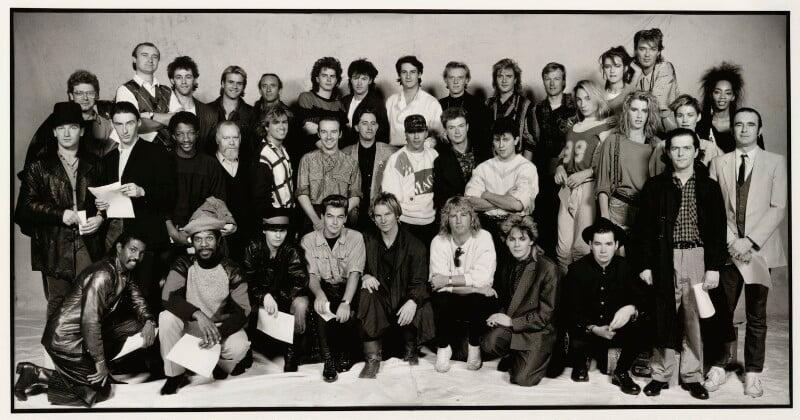 Band Aid, by Brian Aris, 1984 - NPG x87846 - © Brian Aris