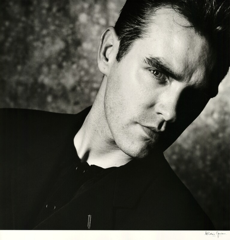 Morrissey, by Alistair Morrison, August 1987 - NPG x36496 - © Alistair Morrison