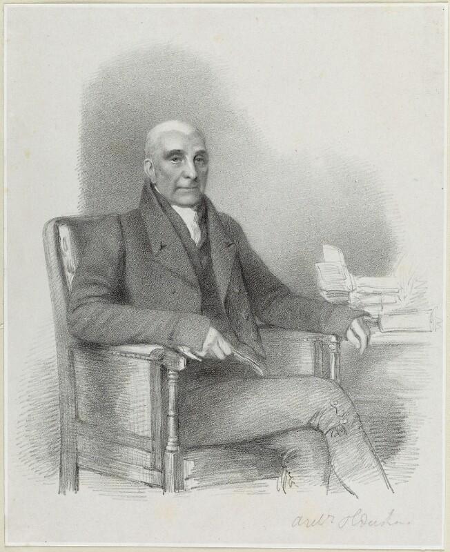 John Oldershaw, by Richard James Lane, circa 1825-1850 - NPG D21886 - © National Portrait Gallery, London