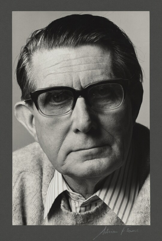 Roland Penrose, by Adrian Flowers, October 1970 - NPG x4168 - © reserved; collection National Portrait Gallery, London