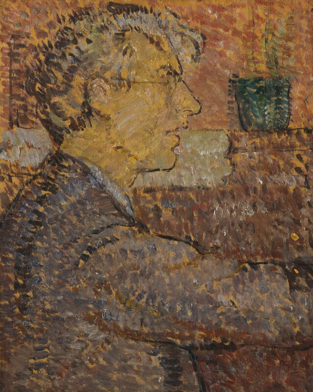 Roger Fry, by Vanessa Bell (née Stephen), 1912 - NPG 6684 - © estate of Vanessa Bell courtesy of Henrietta Garnett; National Portrait Gallery, London