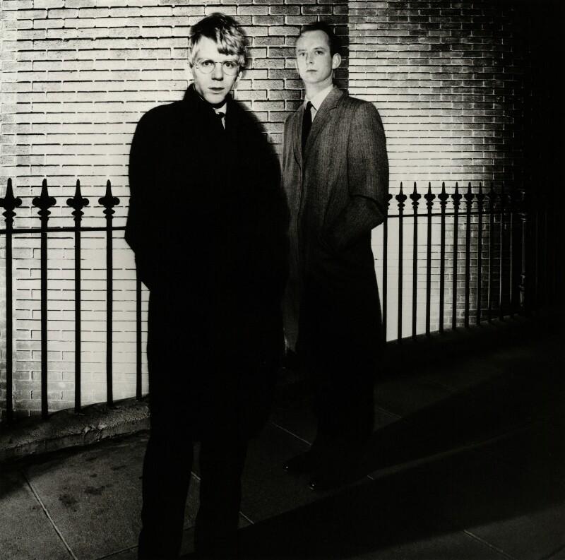 Robert Butler-Sloss; Anthony Radford, by Chris Garnham, September 1984 - NPG x38373 - © estate of Chris Garnham / National Portrait Gallery, London