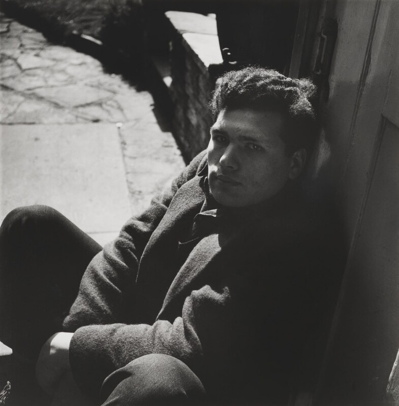 Sir Eduardo Paolozzi, by Lee Miller, 1948 - NPG P1084 - © reserved; collection National Portrait Gallery, London