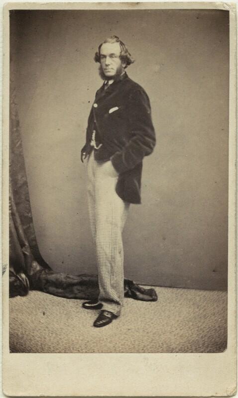 John Leech, by McLean, Melhuish & Haes, circa 1862 - NPG x12405 - © National Portrait Gallery, London