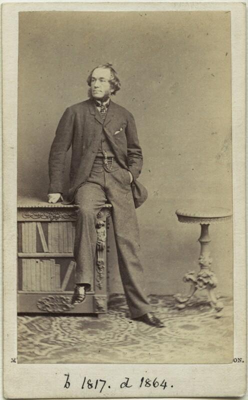John Leech, by McLean & Haes, 1863 - NPG x45103 - © National Portrait Gallery, London