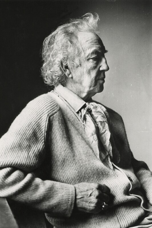 Robert Graves, by Peter Stark, 1972 - NPG x1534 - © Peter Stark / National Portrait Gallery, London