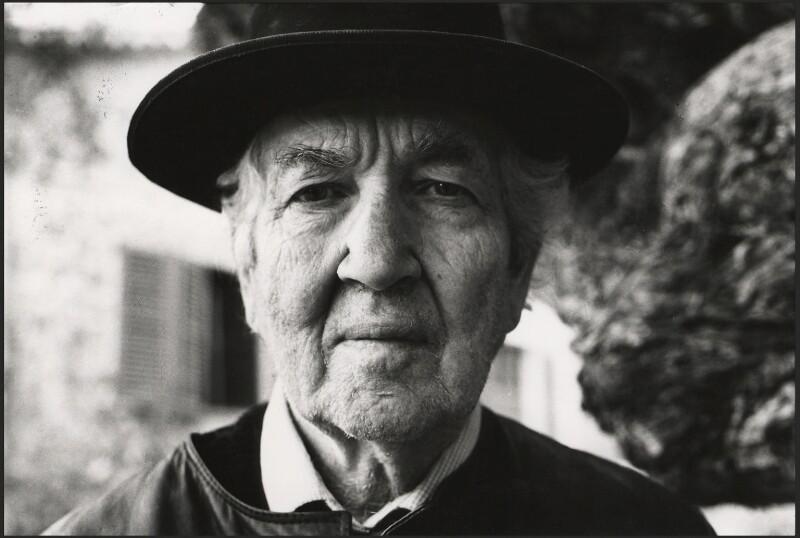 Robert Graves, by Peter Stark, 1970s - NPG x1535 - © Peter Stark / National Portrait Gallery, London