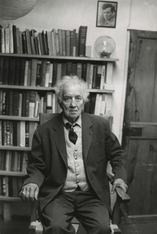 Robert Graves, by Peter Stark, 1970s - NPG x1537 - © Peter Stark / National Portrait Gallery, London