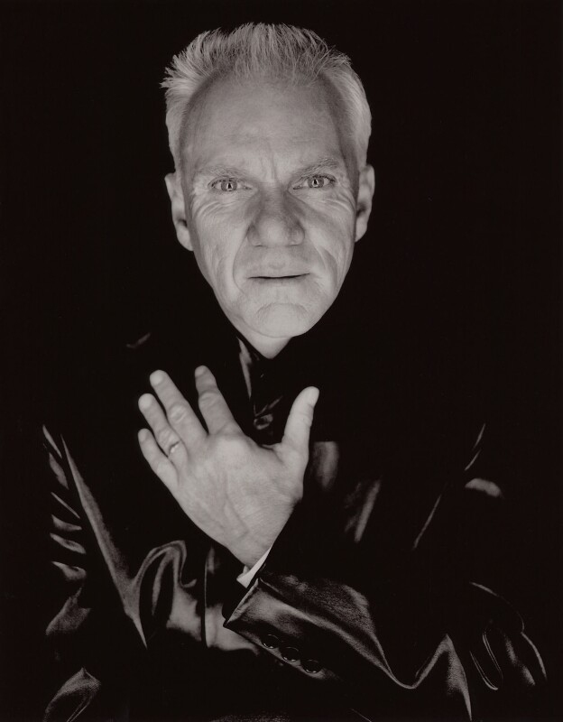 Malcolm McDowell, by Fergus Greer, 2001 - NPG x126884 - © Fergus Greer
