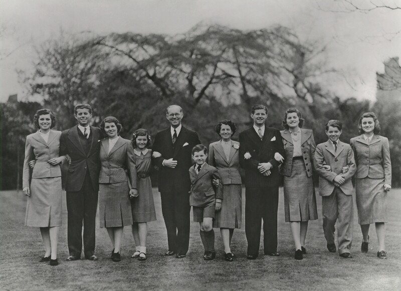 The Kennedy Family, by Dorothy Wilding, 1939 - NPG x45799 - © William Hustler and Georgina Hustler / National Portrait Gallery, London