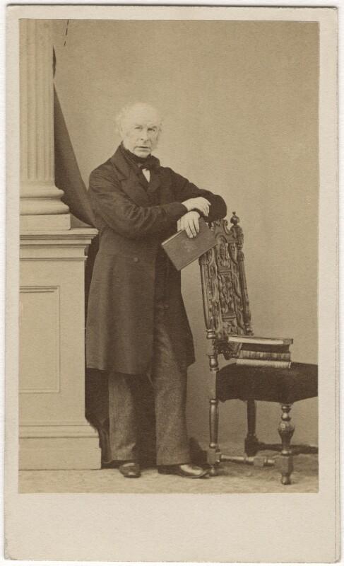 William Hookham Carpenter, by Caldesi, Blanford & Co, 1862 - NPG Ax5089 - © National Portrait Gallery, London