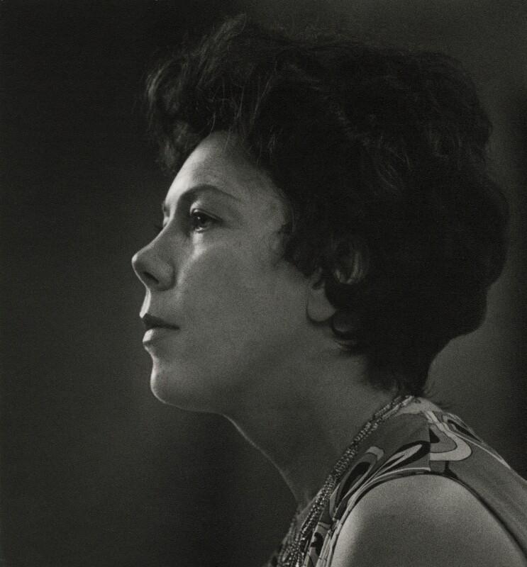 Janet Baker, by Godfrey MacDomnic, 1970 - NPG x76988 - © Godfrey MacDomnic