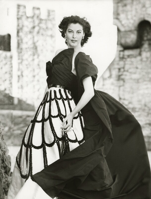 Ava Gardner, by Norman Parkinson, 1953 - NPG x126899 - © Norman Parkinson Archive/ Iconic Images