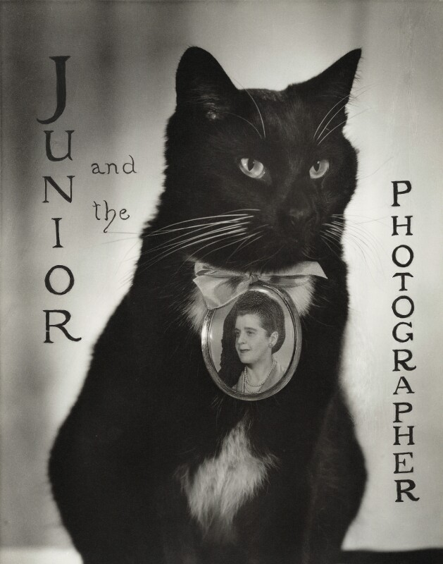 Madame Yevonde ('Junior and the Photographer'), by Madame Yevonde, circa 1958 - NPG x26030 - © Yevonde Portrait Archive