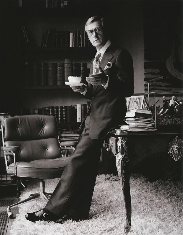 Sir Hardy Amies, by Patrick Lichfield, August 1970 - NPG x126903 - © Lichfield