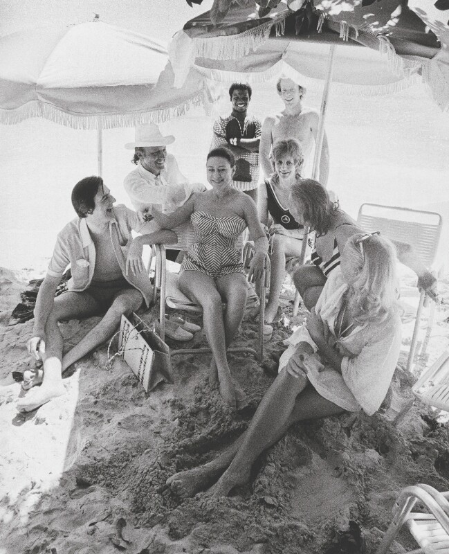 Princess Margaret In Mustique With Friends By Thomas Patrick John Anson 5th Earl Of