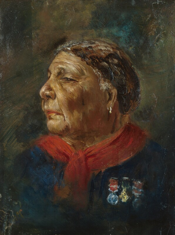 Mary Seacole, by Albert Charles Challen, 1869 -NPG 6856 - © National Portrait Gallery, London
