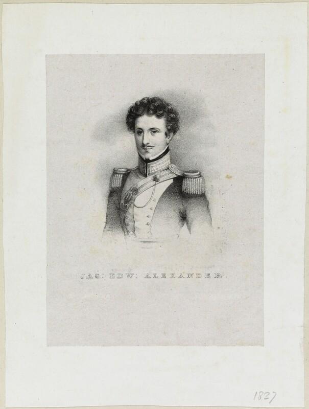 James Edward Alexander, by Richard James Lane, 1827 - NPG D21949 - © National Portrait Gallery, London