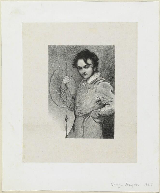 Sir George Hayter, by Richard James Lane, 1826 - NPG D21950 - © National Portrait Gallery, London