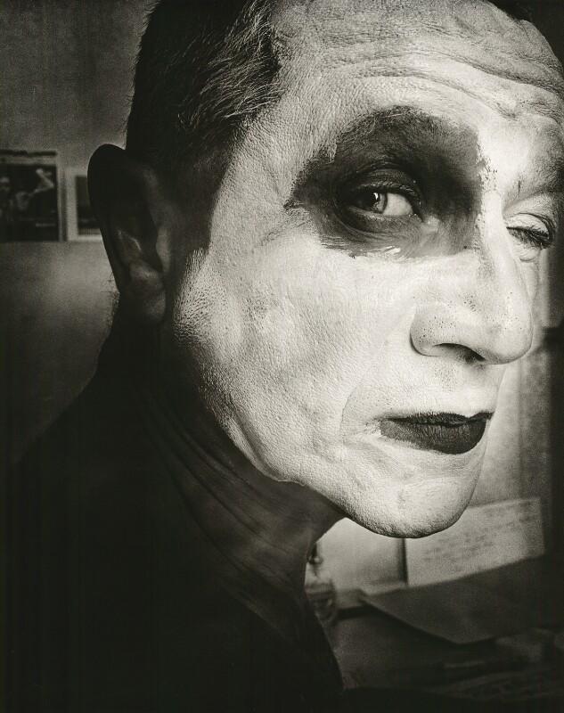 Steven Berkoff, by Alastair Thain, 1988 - NPG x126917 - © Alastair Thain