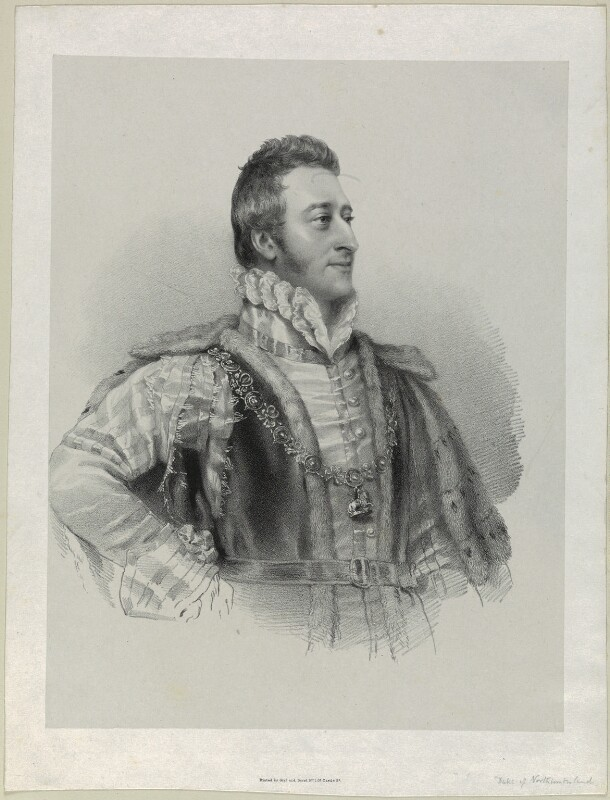 Hugh Percy, 3rd Duke of Northumberland, by Richard James Lane, printed by  Graf & Soret, after  Christina Robertson (née Saunders), circa 1825-1850 - NPG D21963 - © National Portrait Gallery, London