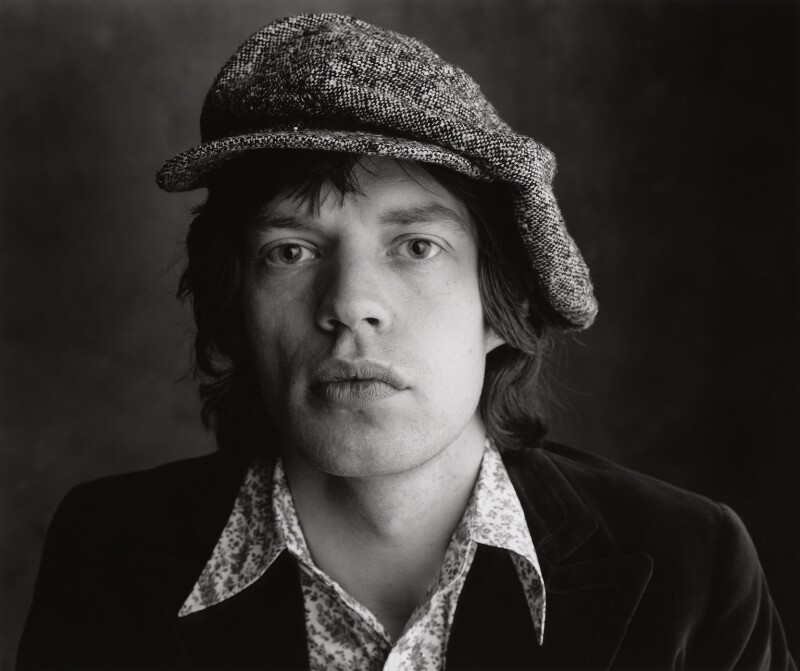 Mick Jagger, by Peter Webb, May 1971 - NPG x87565 - © Peter Webb