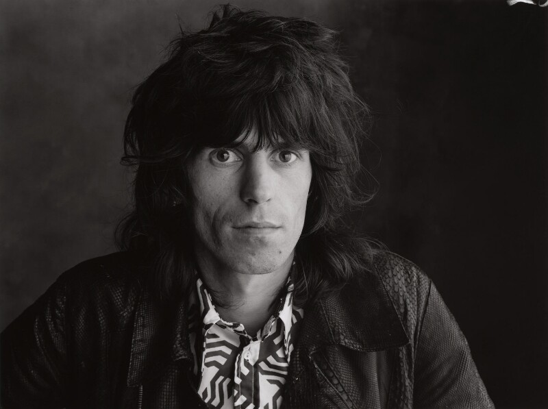 Keith Richards, by Peter Webb, May 1971 - NPG x87566 - © Peter Webb