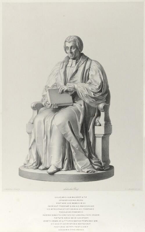 William Van Mildert, by Richard James Lane, after  John Gibson, 1842 - NPG D21987 - © National Portrait Gallery, London