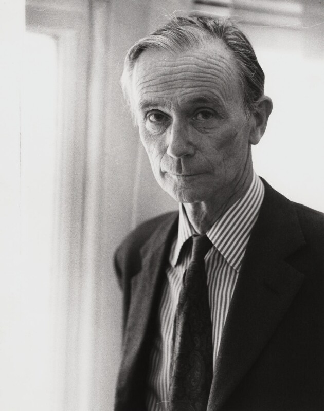 Sir William Menzies Coldstream, by Sarah Quill, circa 1975 - NPG x1453 - © Sarah Quill
