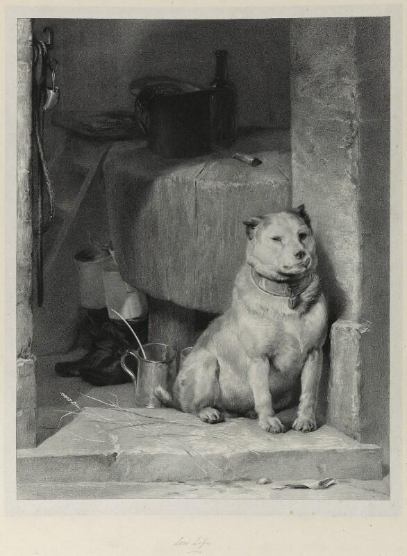 'Low life', by Richard James Lane, after  Sir Edwin Henry Landseer, circa 1825-1850 - NPG D22016 - © National Portrait Gallery, London