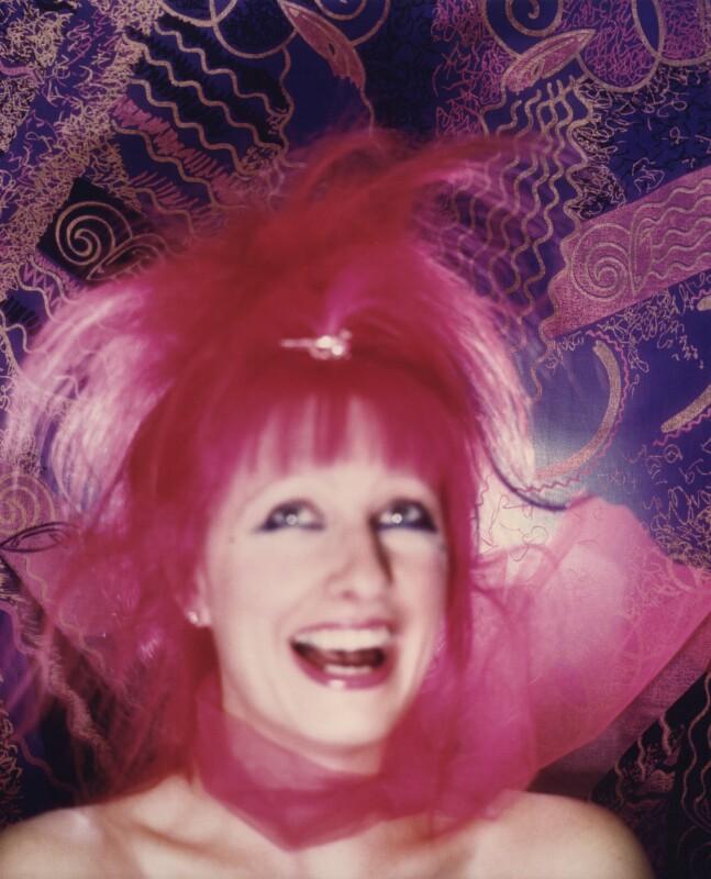 Zandra Rhodes, by Norman Parkinson, 1981 - NPG x30143 - © Norman Parkinson Archive