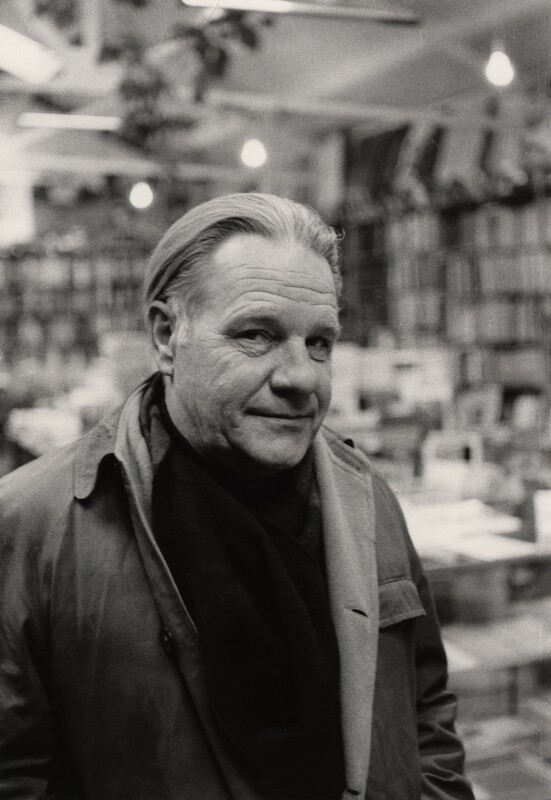 Lawrence George Durrell, by (John) Edward McKenzie Lucie-Smith, April 1970 - NPG x20161 - © Edward Lucie-Smith / National Portrait Gallery, London