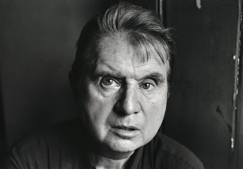 Francis Bacon, by Jane Bown, 1983 - NPG x126934 - © Jane Bown