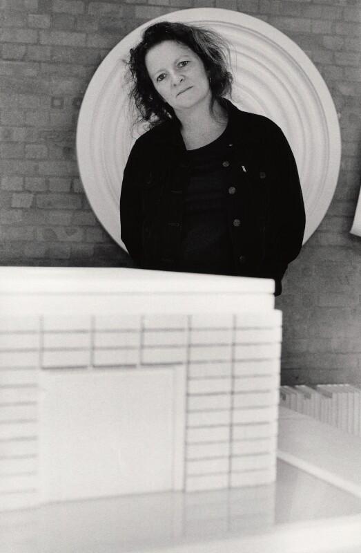 Rachel Whiteread, by Gautier Deblonde, 1999 - NPG x126937 - © Gautier Deblonde