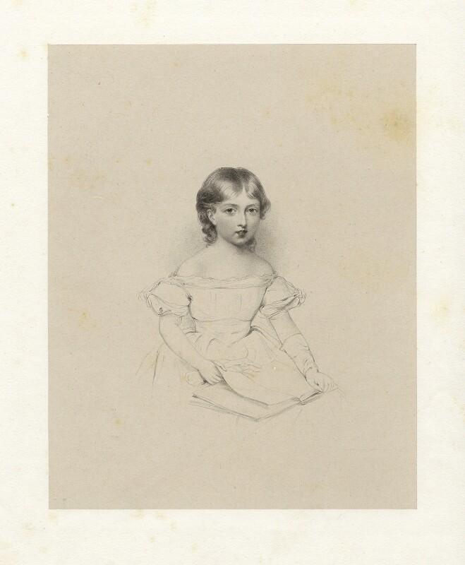 Queen Victoria, by Richard James Lane, circa 1825-1850 - NPG D22115 - © National Portrait Gallery, London