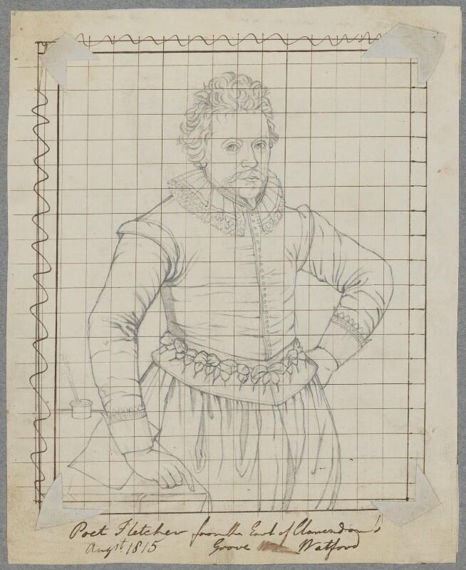 John Fletcher, by Henry Bone, after  Unknown artist, August 1815 - NPG D17159 - © National Portrait Gallery, London