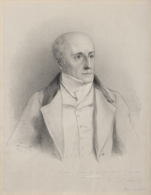 James Bandineil, by Richard James Lane, after  John Callcott Horsley, May 1850 - NPG D22139 - © National Portrait Gallery, London