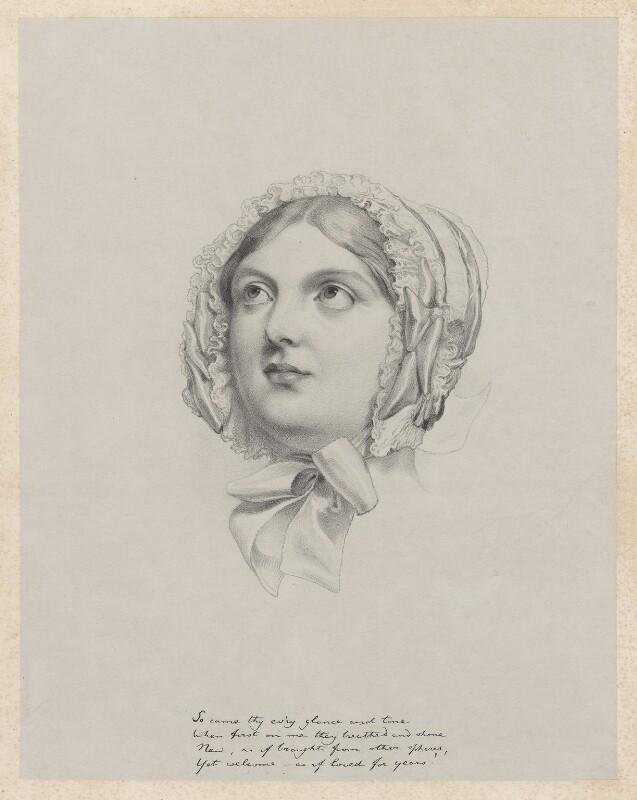Mrs Arkwright, by Richard James Lane, after  Sir George Hayter, 1849 - NPG D22169 - © National Portrait Gallery, London